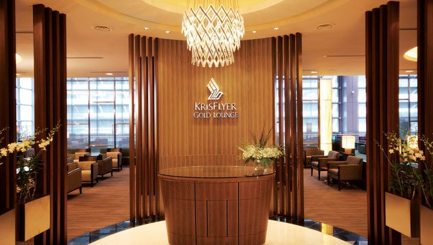 S.I.A. Krisflyer Lounges Changi Airport T3